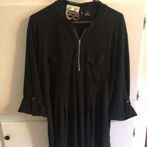 New Directions Woman plus size 2x. Black tunic